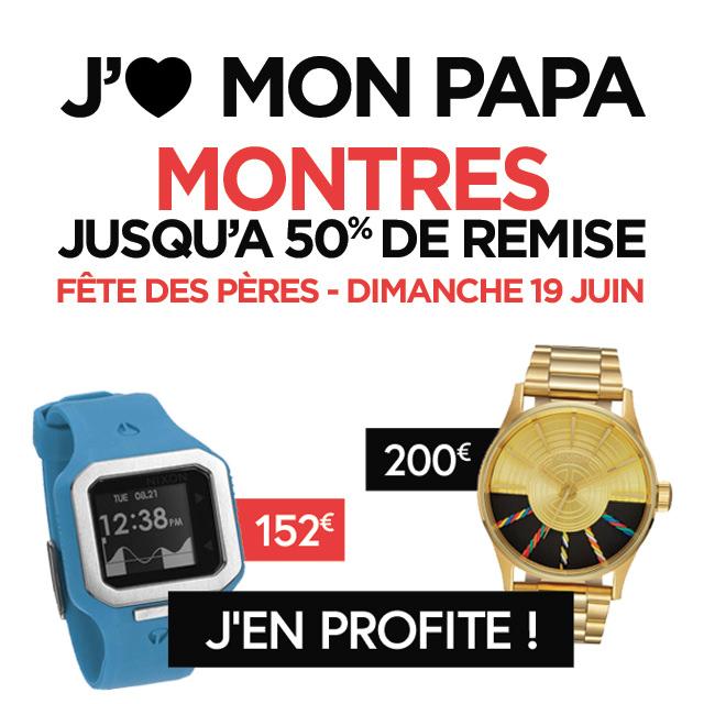 Fête de pères : offrez une montre à votre papa... jusqu'à 50% de remise