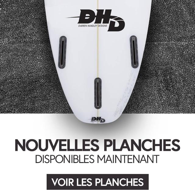 Planches de surf Darren Handley Designs