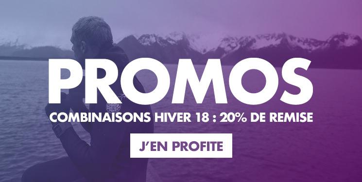 Promotions combinaisons hiver 2018