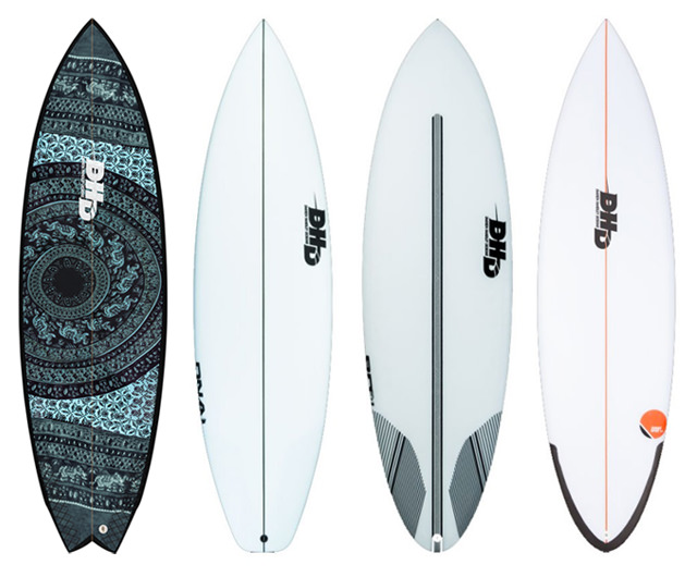 Collection 2019 planches de surf DHD