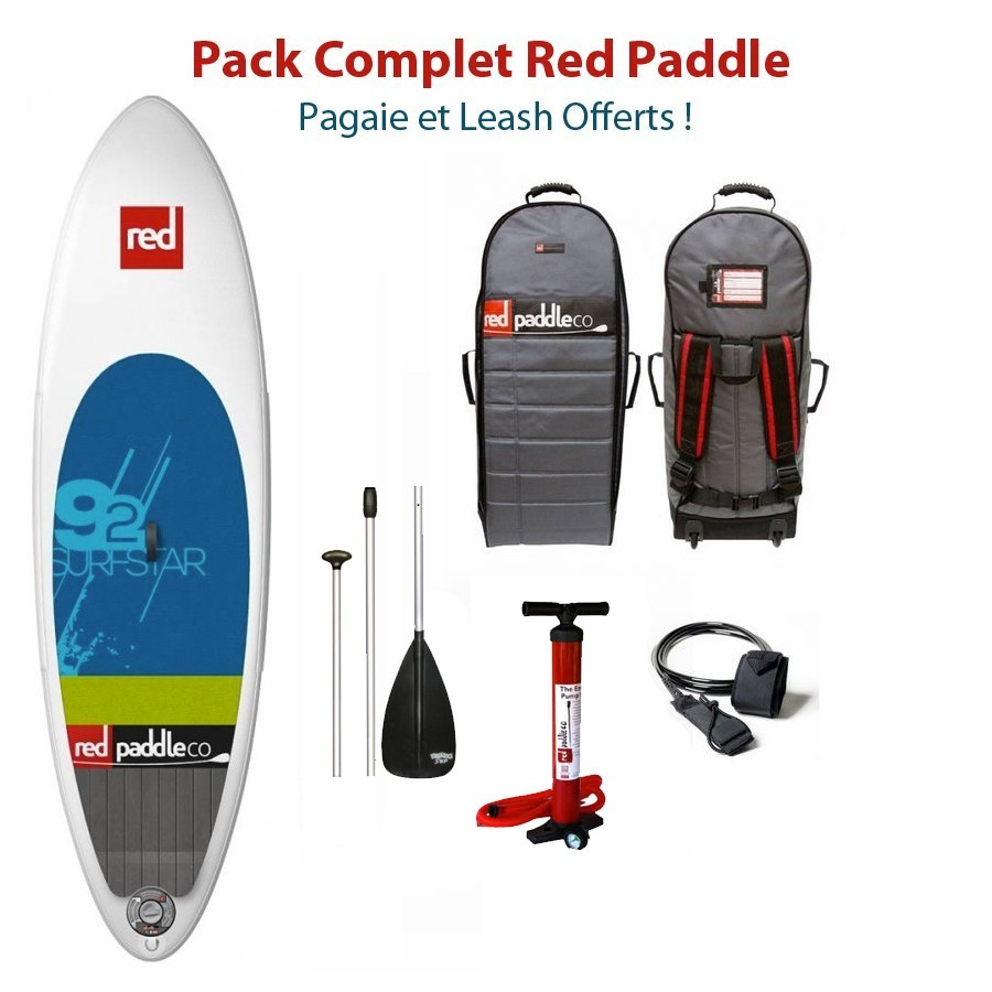 Red Paddle 9'2 Surf Star